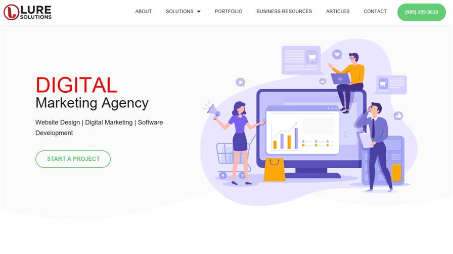Lure Solutions - Web Design and Digital Marketing