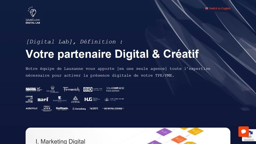 Lyketil.com - Digital Lab