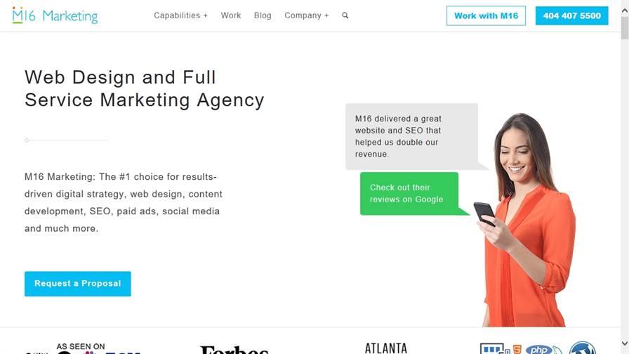 M16 Marketing - Web Design and SEO Company
