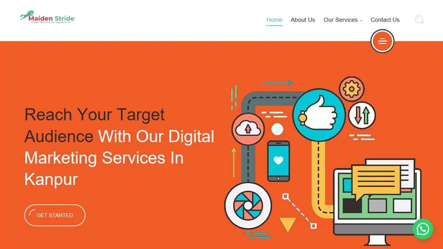 Maiden Stride - Website Designing, Digital Marketing, SEO & PPC Company In Kanpur