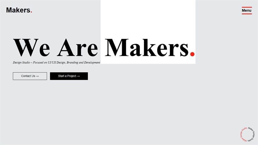 Makers Design Studio | Top Logo design and UX/UI Agency