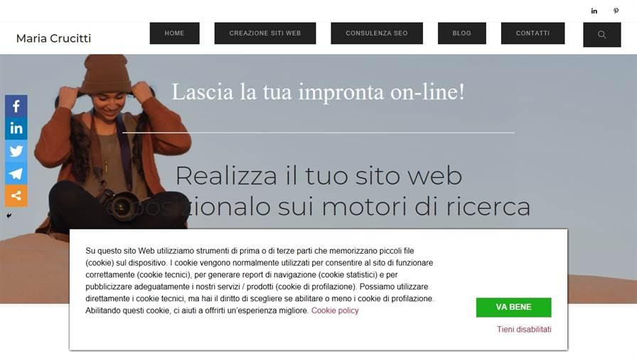 Maria Crucitti | Web design | SEO Copywriting | Formazione