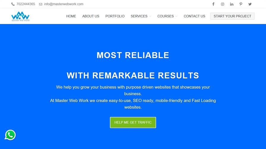 Master Web Work - Website Design, SEO and Digital Marketing Services in Belgaum