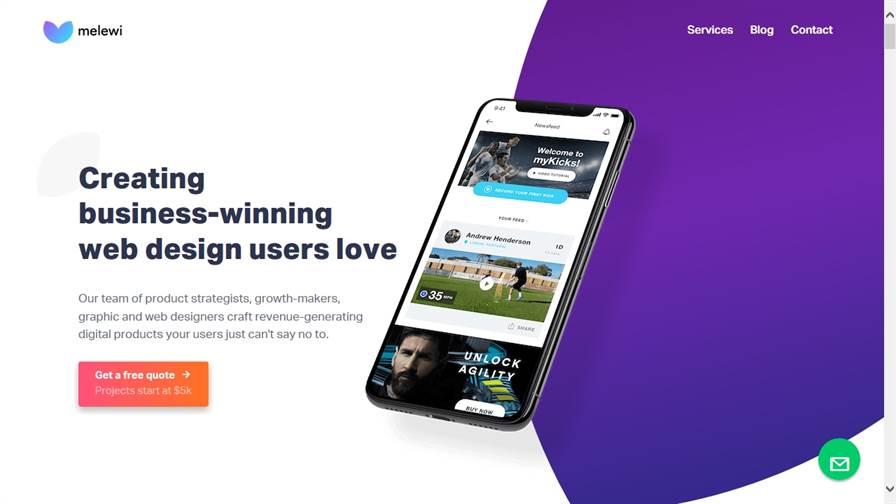 Melewi - Web-Design & UX/UI in Singapore