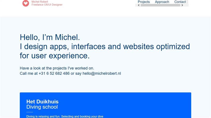 Michel Robert - UX/UI Designer