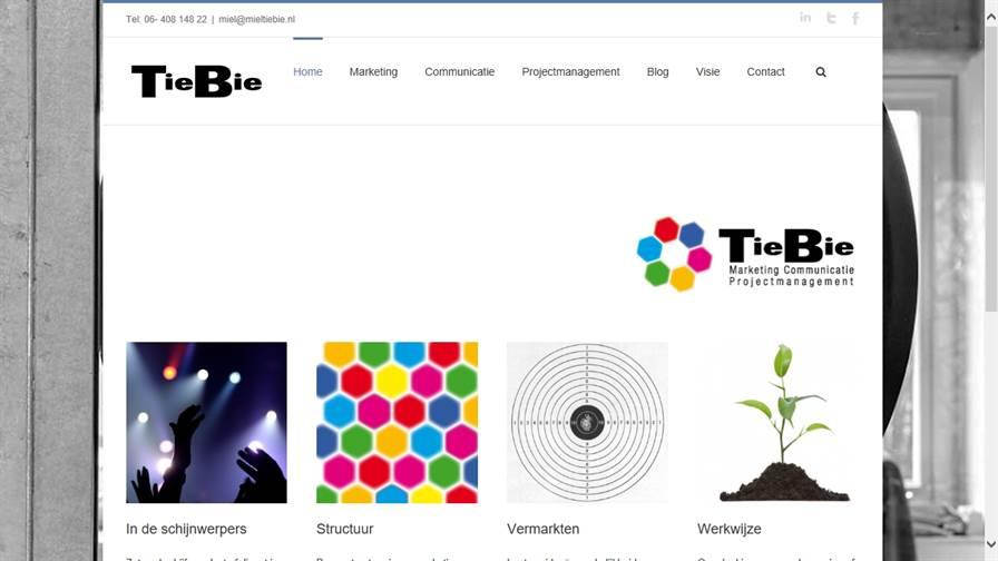 TieBie Marketing Communicatie Projectmanagement