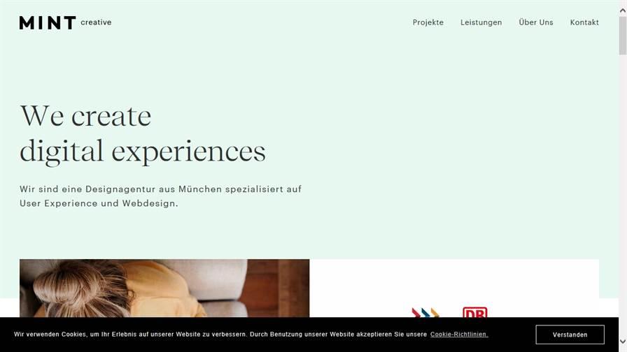 Mintcreative UX Agentur, Designagentur, München
