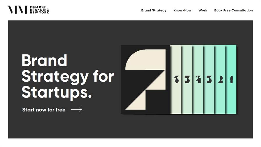 MMarch NY – Branding for Startups
