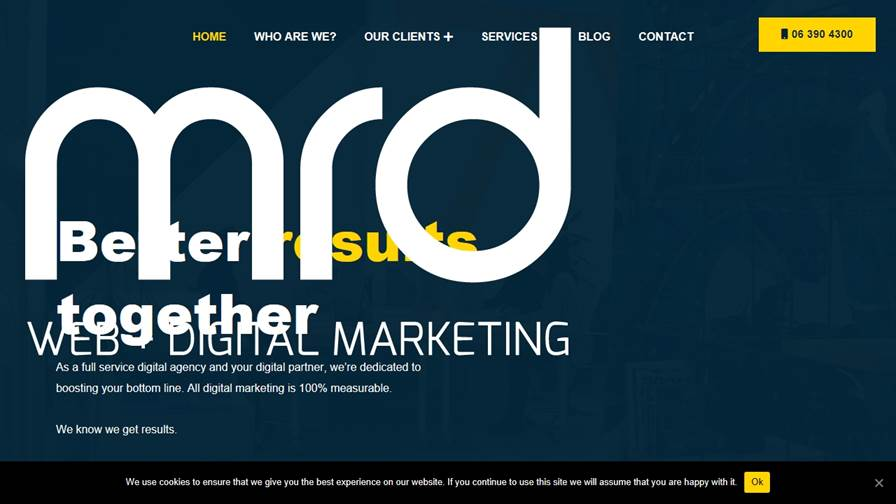 MRD WEB + Digital Marketing