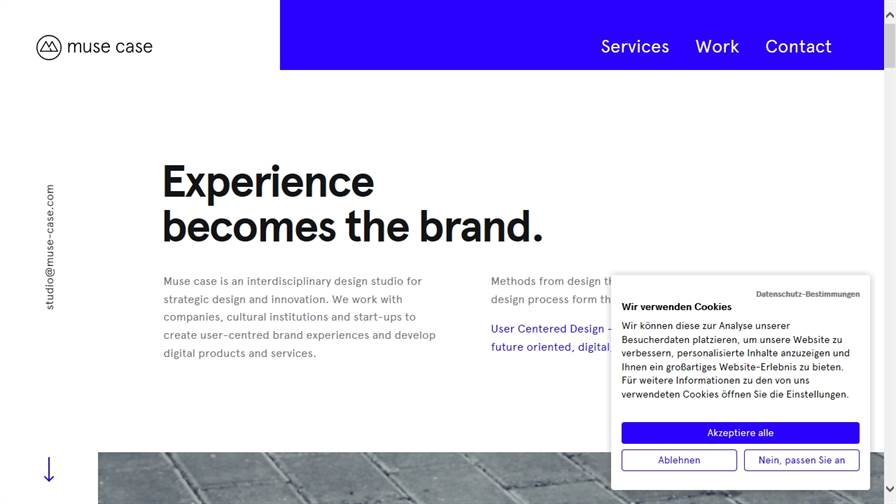 muse case — UX-Design & Technology Studio