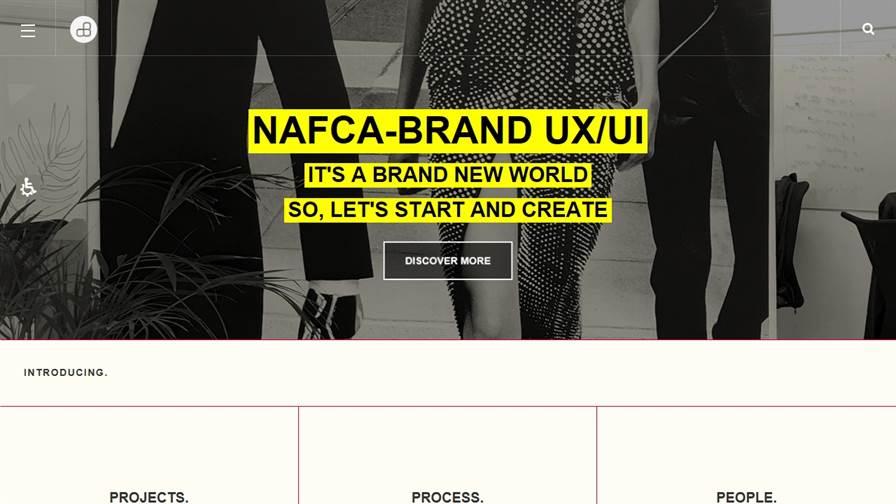 Nafca - Branding and Web