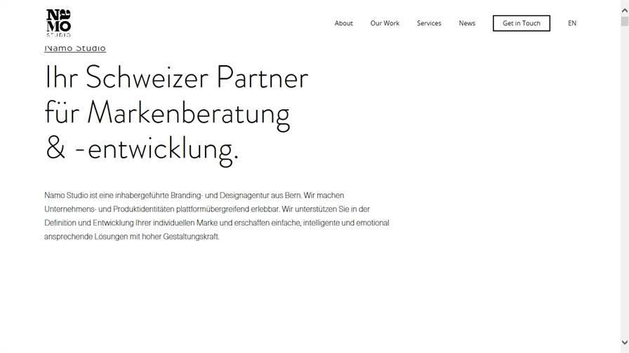 Namo Studio für Branding & Webdesign