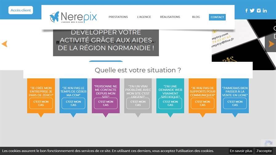 Agence Web Nerepix
