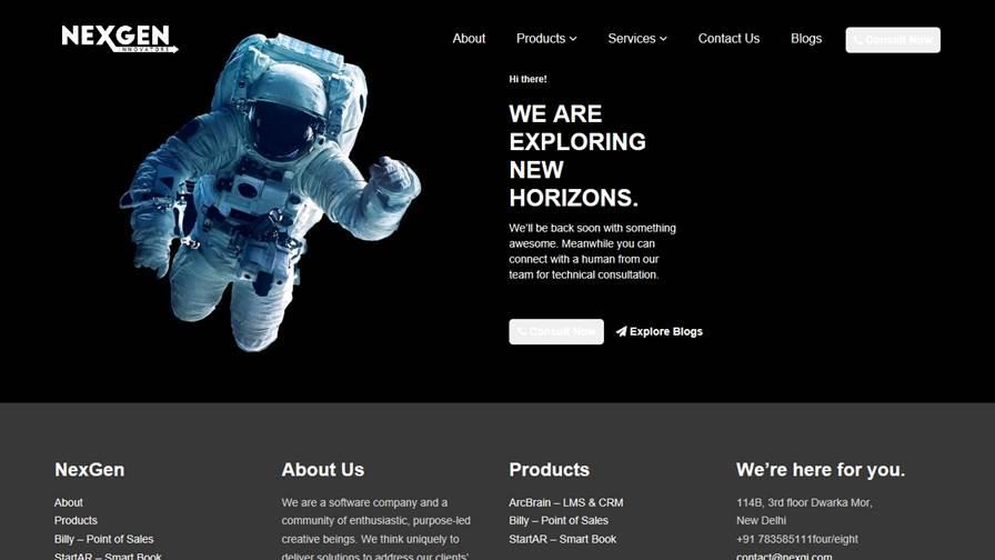 NexGen Innovators - Software Company