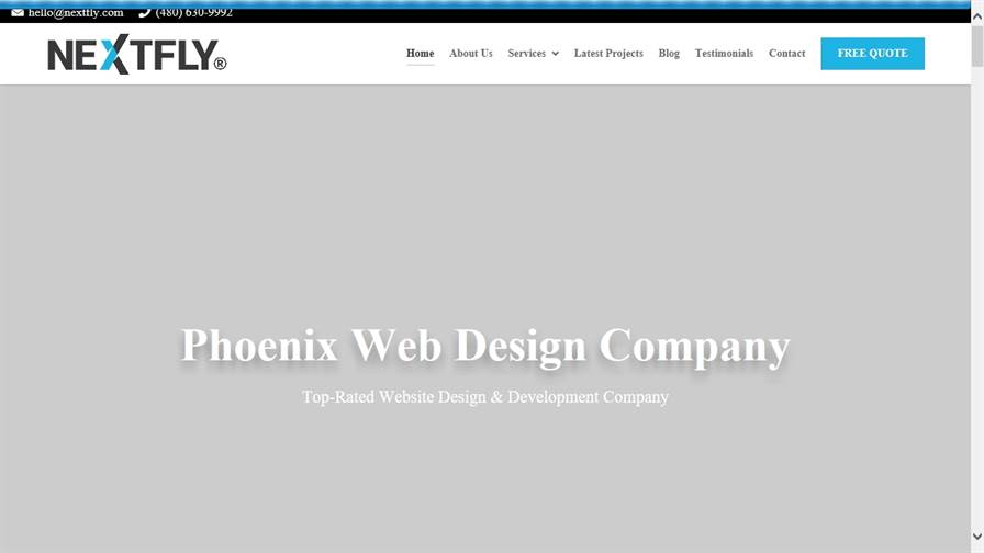 NEXTFLY Phoenix Web Design