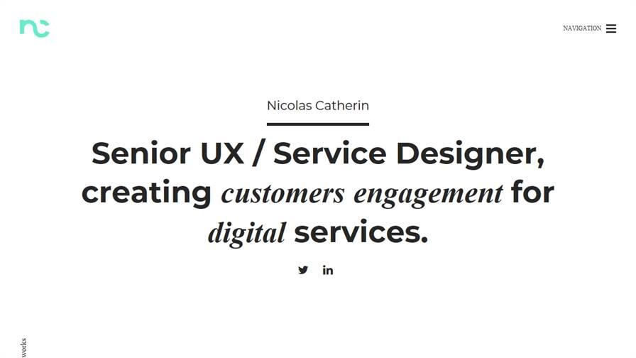 Nicolas Catherin - UX designer / Service designer / Design Thinker