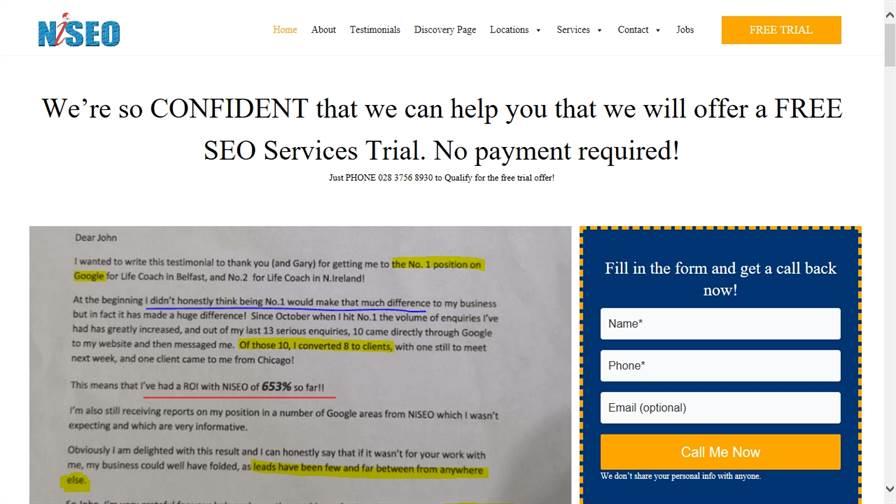 Ni SEO | Web Design & SEO Agency