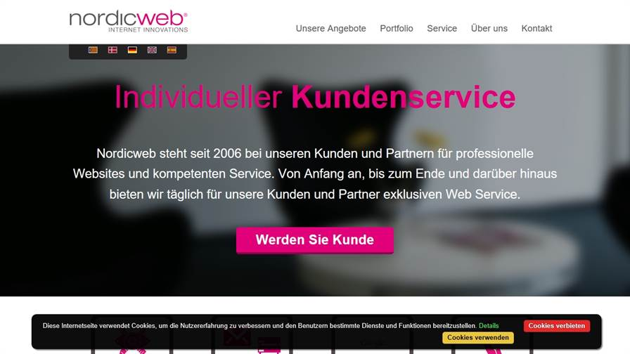 Nordicweb GmbH Webdesign & Hosting