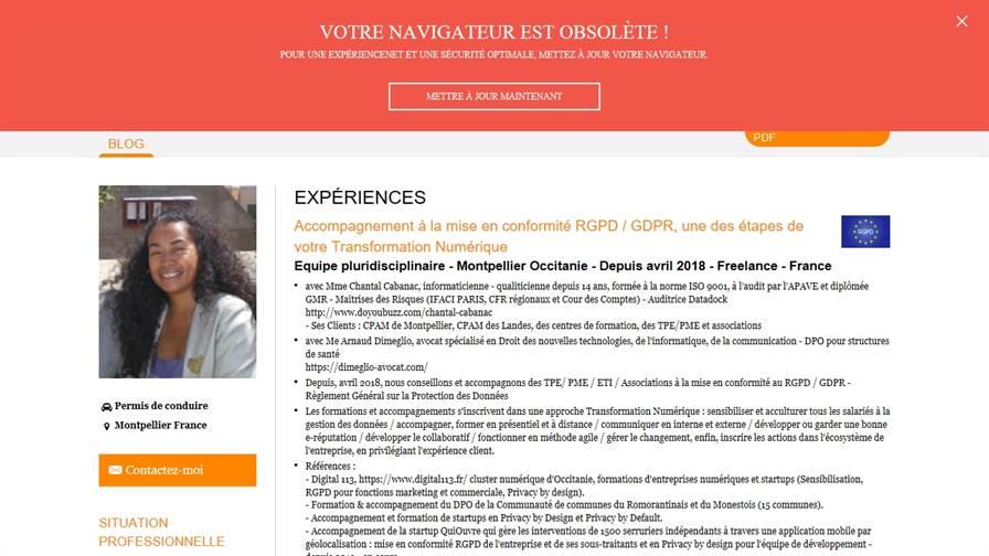e-reputation, RGPD, Stratégie Marketing & Transformation Numérique à Montpellier RAZAFINIMANANA Norolanto conseil