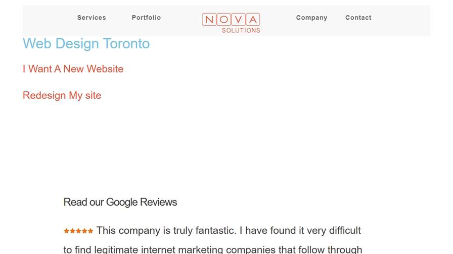 Web Design Toronto | Nova