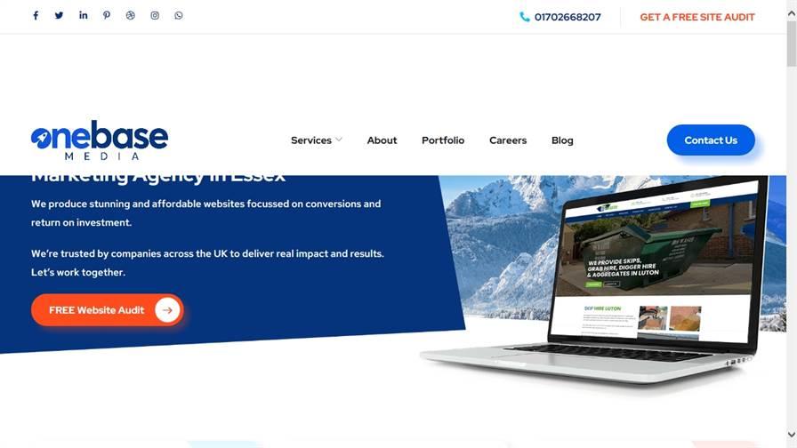 Web Design Essex | One Base Media
