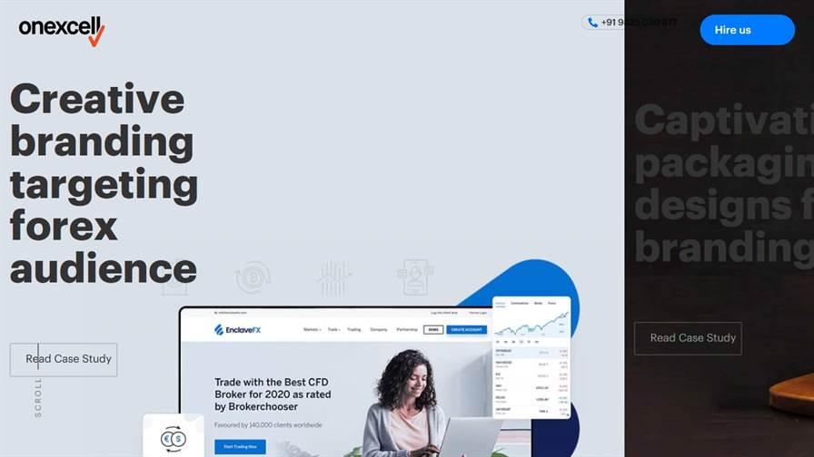 Onexcell - Web Design Agency, Ui Ux Design Agency, Website Design Company