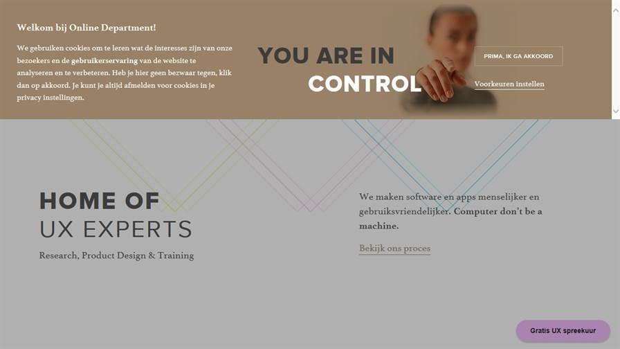 Online Department