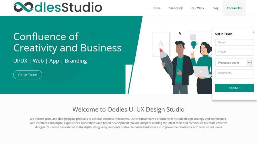 Oodles Studio - UI UX Design Services   Logo/Brand Identity Design   Web & Mobile App Design Services   Wireframe & Prototype Design