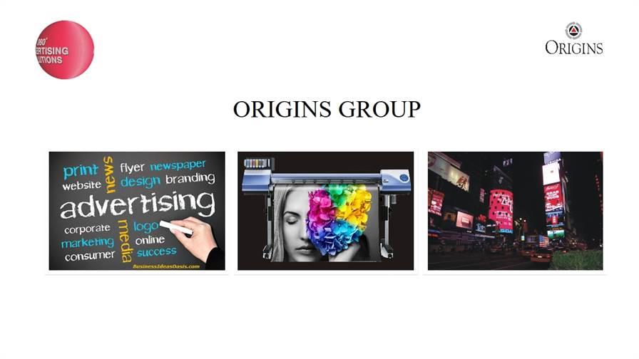 Origins Advertising pvt.ltd.