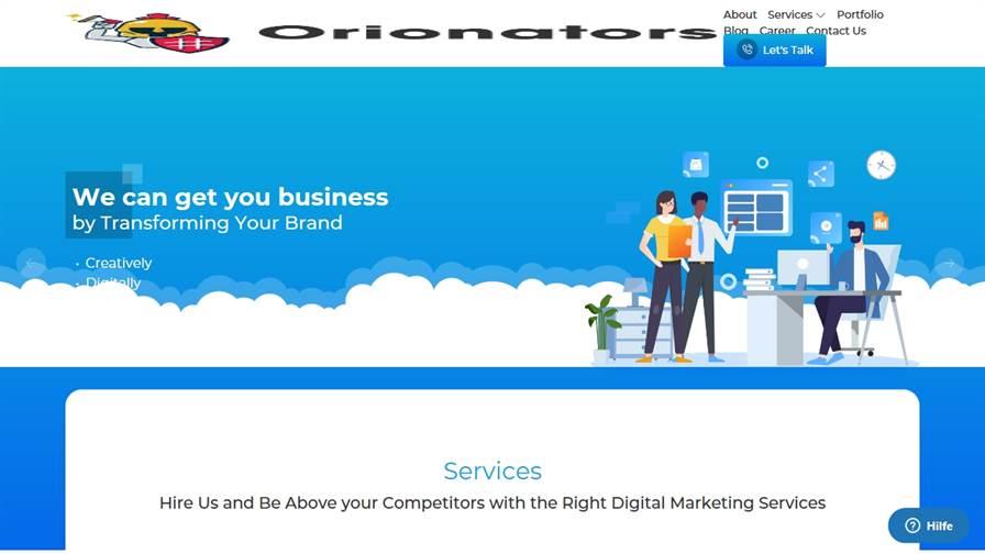 Orionators - Best Digital Marketing Company in Udaipur