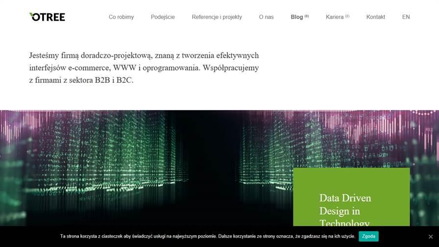 OTREE | Agencja UX | Agencja eCommerce | Data Driven Design in Technology