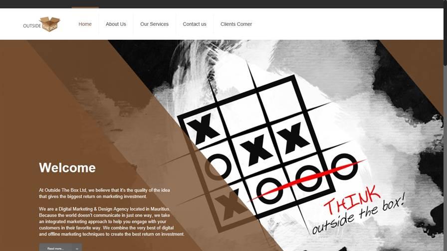 Outside The Box Ltd - Web Digital Marketing & Design Agency, and Digital Printing, Mauritius