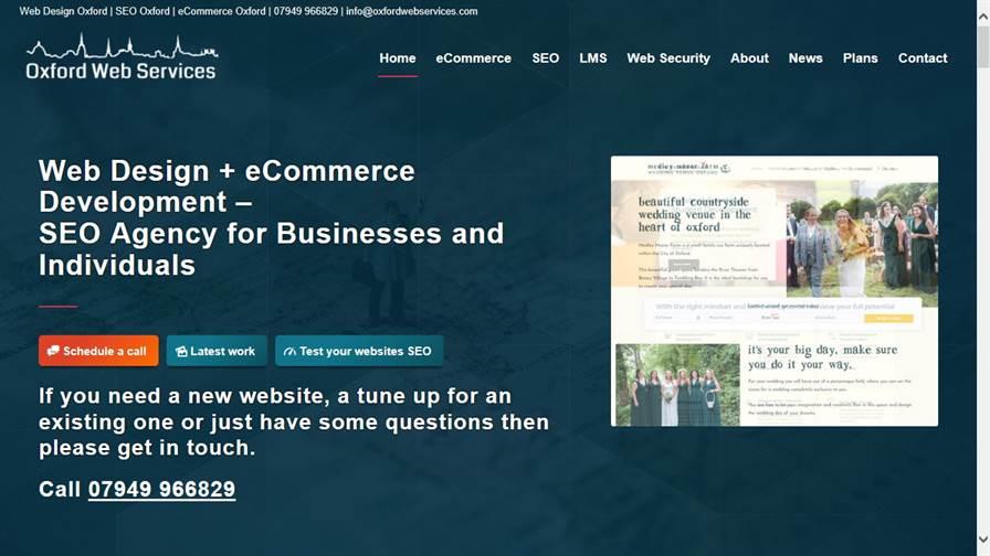Oxford Web Services | Web Design and SEO in Oxford