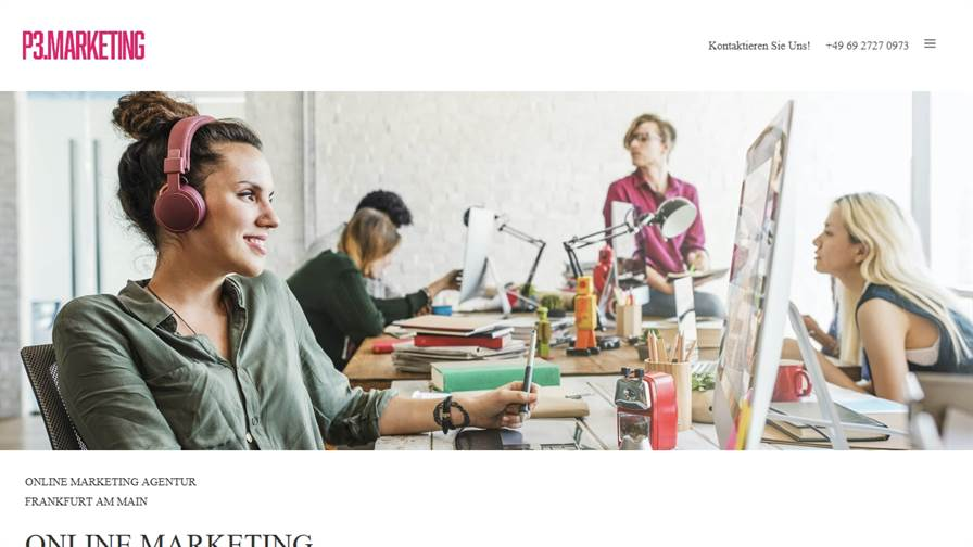 P3.MARKETING » Webdesign & SEO Agentur