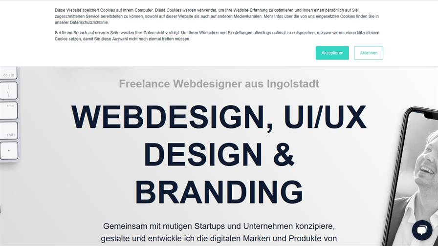 Philipp Weigert Freelancer für Webdesign, Branding & UX Design