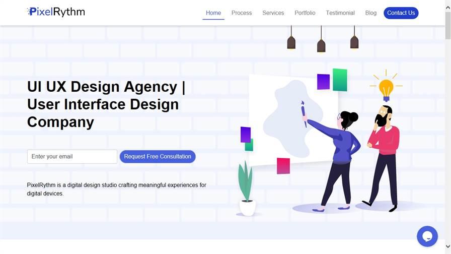 Pixelrythm- The design studio