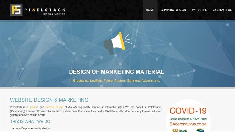 Pixelstack Graphic & Web Design