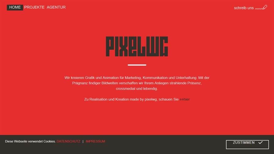 pixelwg - Werbeagentur für Animation und Grafik