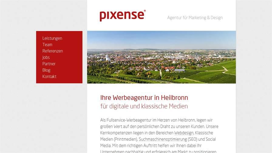 Pixense Werbeagentur Heilbronn