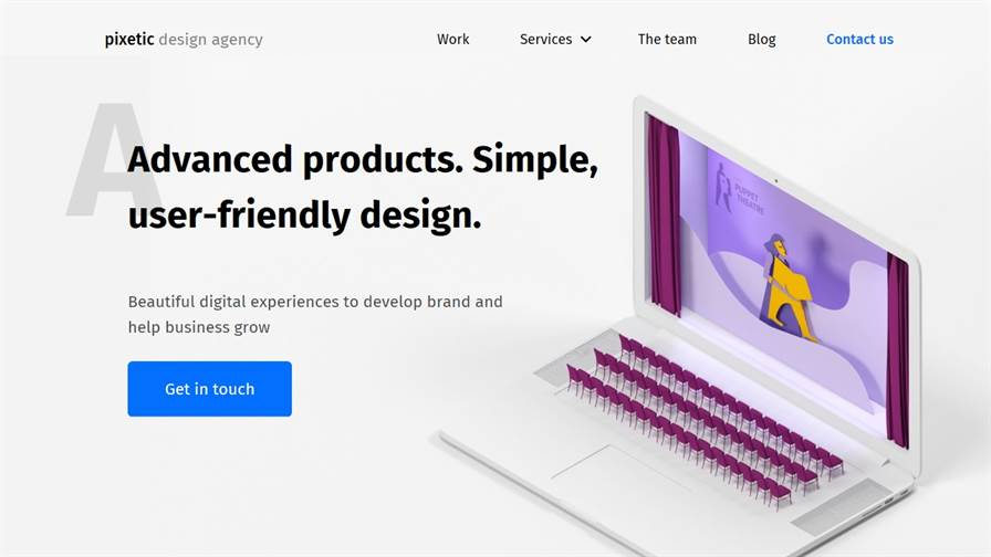 Pixetic - a Digital Design Agency