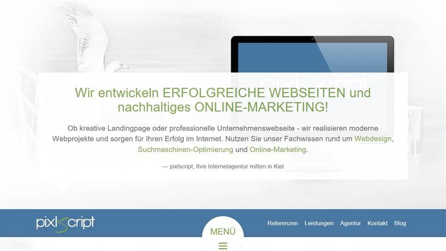 pixlscript - Agentur für Webdesign & Online-Marketing