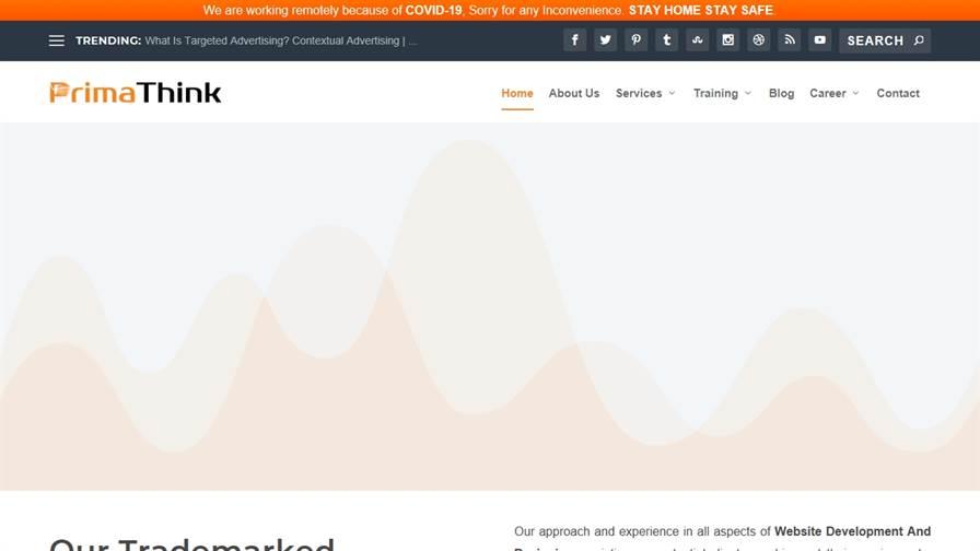 PrimaThink Technologies Pvt. Ltd. {Digital Marketing & Website Development}
