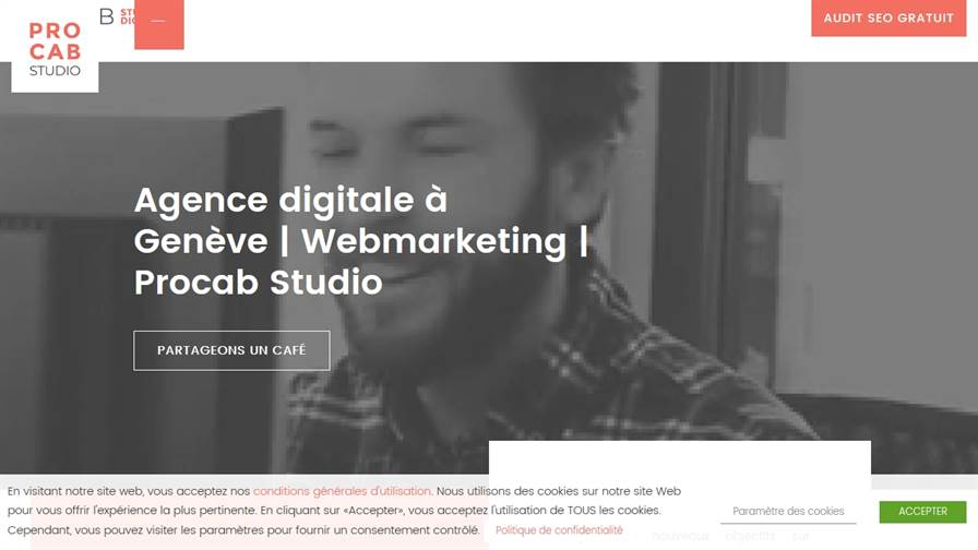 Procab Studio SA - Web Agency, Digital Marketing et SEO Services in Geneva Switzerland