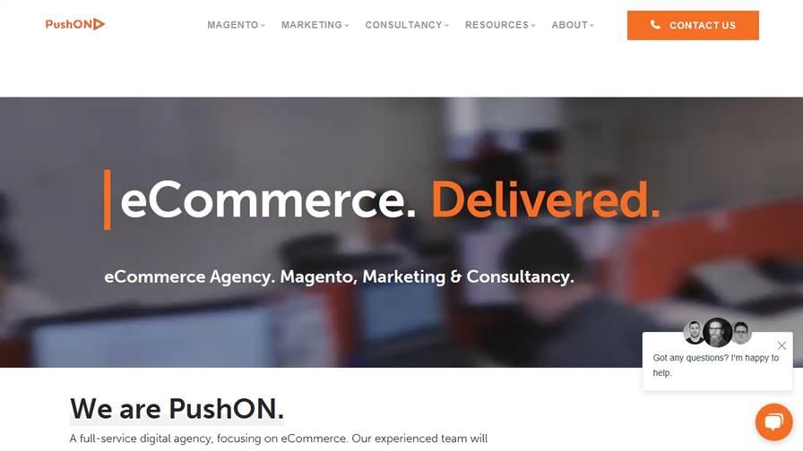PushON - Magento eCommerce Development and Marketing Agency