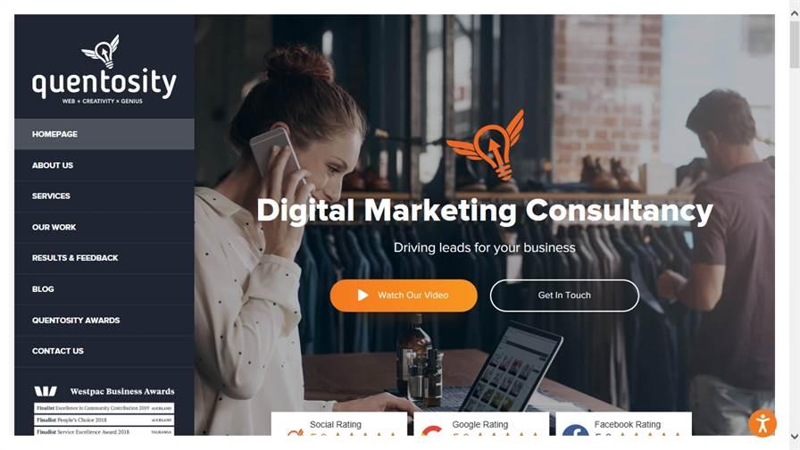 Quentosity - Digital Creative Agency (Web Design Auckland)