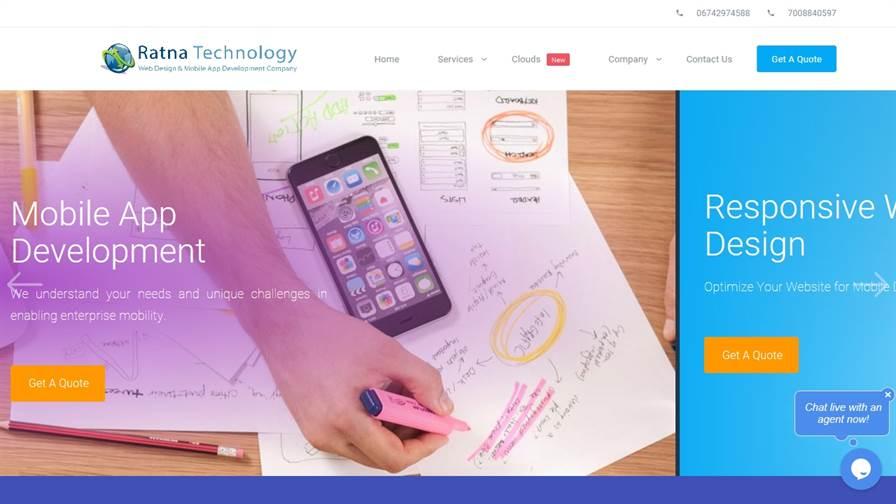 Ratna Technology - Website Design & Mobile App Development Company