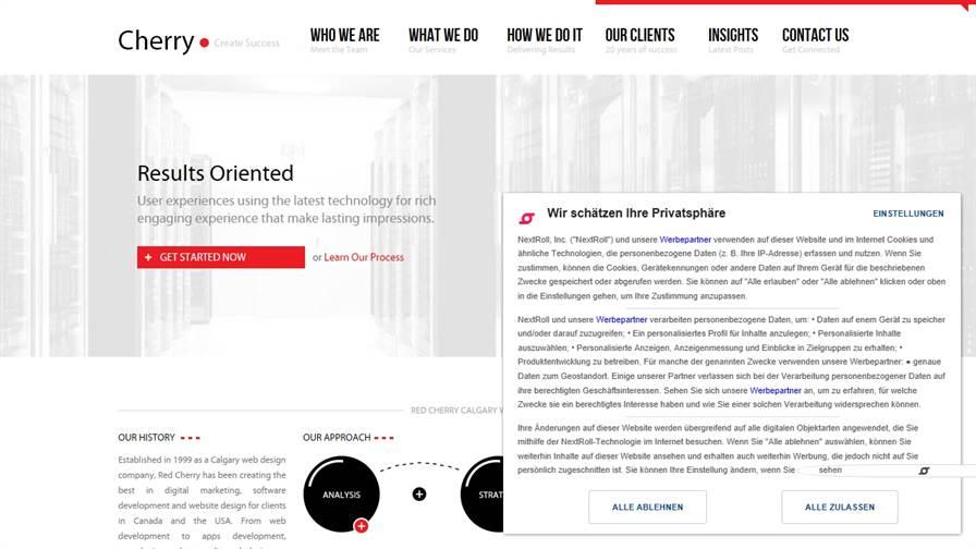 Web Design Calgary - Red Cherry Website Development Company Calgary AB - Top Calgary Web Design Agency