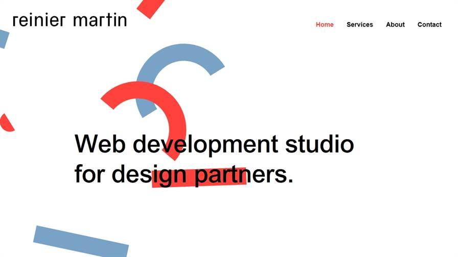Reinier Martin – web development studio