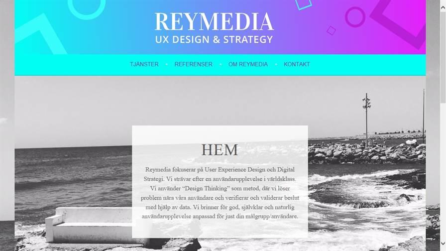 Reymedia - UX Design & Digital Strategy