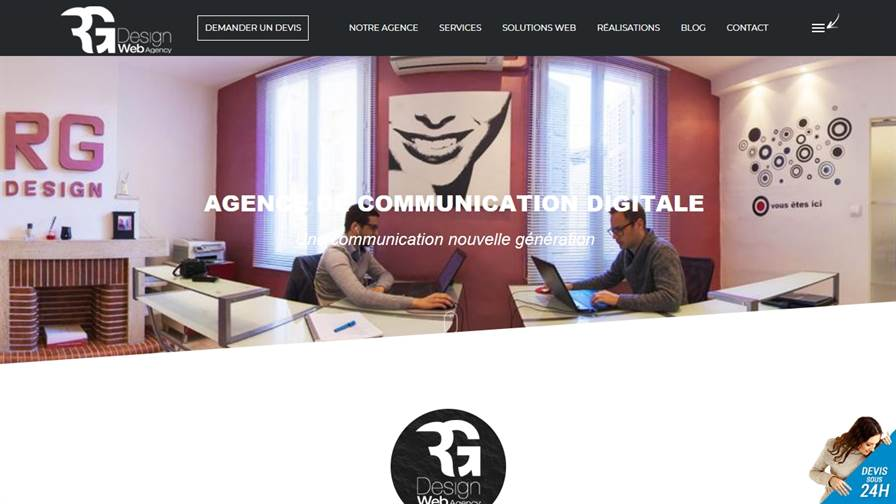 RG Web Design Agency